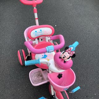 ディズニー ミニー 三輪車