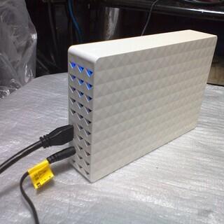 外付けハードディスク USB3.0 2TB 使用時間約2000時間