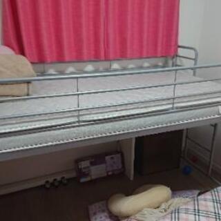 パイプ ロフト ベッド