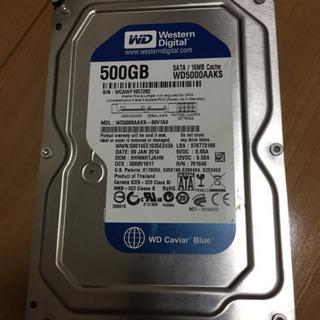 HDD  western digital 500GB