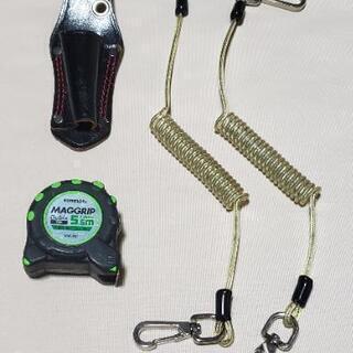未使用セーフティベルト(3㎏)2本と工具ケース