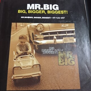 MR.BIG(BIG BIGGER BIGGEST ~ザ・ベスト...