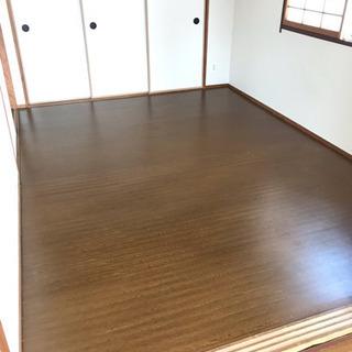 中古 フローリングカーペット 江戸前6畳サイズ 使用4カ月