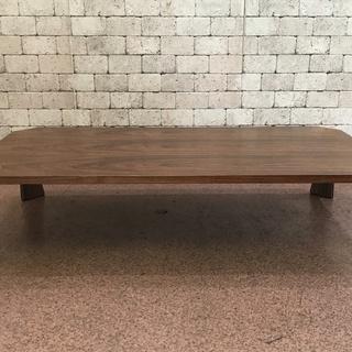 S08 天童木工 座卓 机 テーブル 中古 傷有 155×76×...