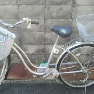 〔相手様が決定しました〕電動アシスト自転車、バッテリー2個つき