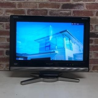 即日受渡可❣️使用数回の美品シャープ20型液晶テレビ4000円