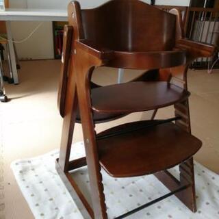 KATOJI カトージ テーブル付き木製ハイチェア 高さ調整可 ...