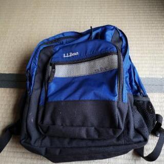 LLbean リュックサック 紺色