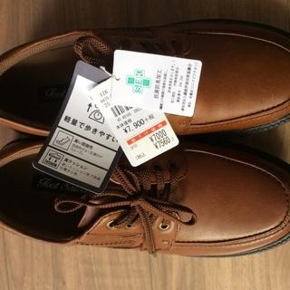 ♪ 新品♪ Foot Saloon天然革紳士靴 25cm 茶系