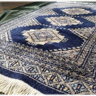 G14 カシミール 手織り 絨毯 ラグ 敷物 マット