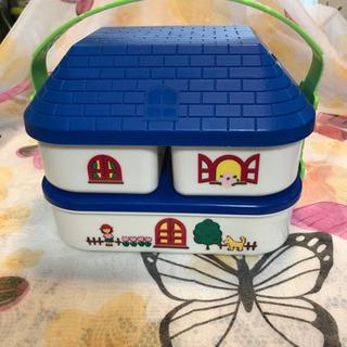 ピクニック お弁当箱  青色系