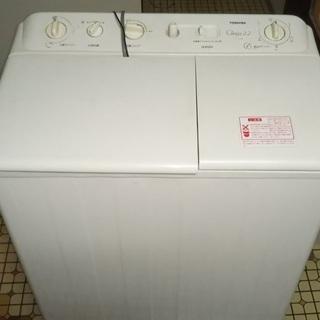 2層式洗濯機 無料 A