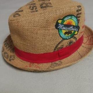 サイズ54 子供用麦わら帽子カウボーイハット テンガロン