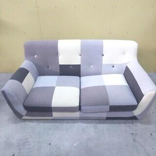 QB716 【良品】ソファー 二人掛け インテリア家具 おしゃれ家具
