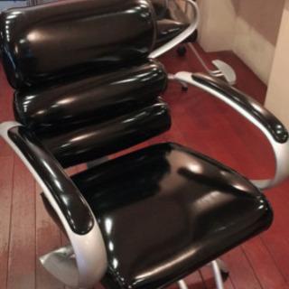 美容室で使用していたオシャレセット椅子✨