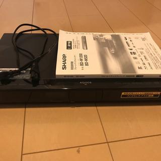 お譲り先決まりました SHARP BD-W520 500GBの画像