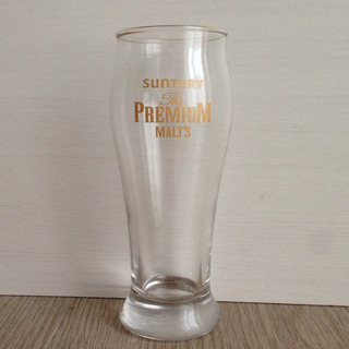 新品未使用 プレミアムモルツ ビアグラス 1個