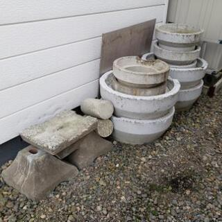 花壇用のコンクリート鉢