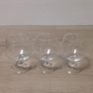 ブランデーグラス/ワイングラス  3客