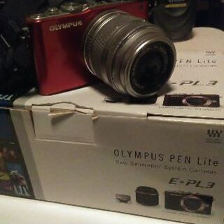 OLYMPUSミラーレス一眼カメラ PL-3