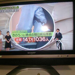 20型液晶テレビ1000円