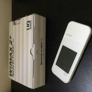 Speed Wi-Fi NEXT W04 ポケットWi-Fi 白