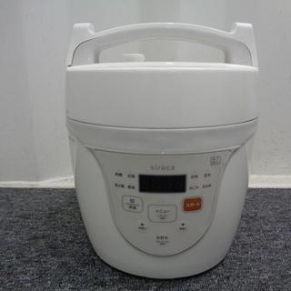 シロカ 電気圧力鍋 クックマイスター  SPC-101WH