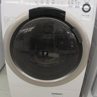 SHARP シャープ ES-S70-WL 2015年製 洗濯機 中...