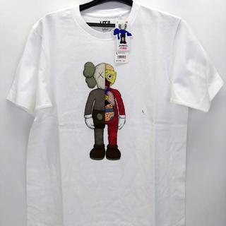 ユニクロ KAWS Tシャツ(新品) Lの画像