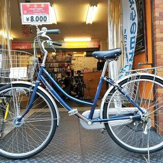 ☆整備済リサイクル自転車 26インチ 重くならないLEDオートラ...