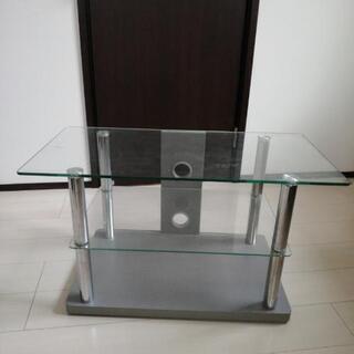 ガラステーブル・テレビ台