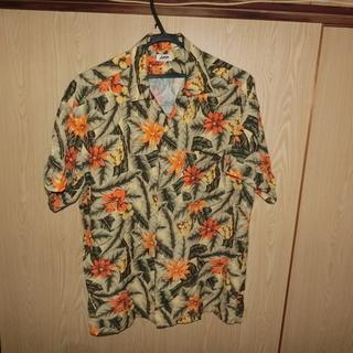 アロハシャツ made in Japan/サイズ M 100%レ...