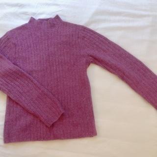 ユニクロ ピンク ニット セーター