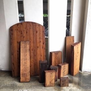 廃材・木材まとめて引き取ってい頂く方募集。