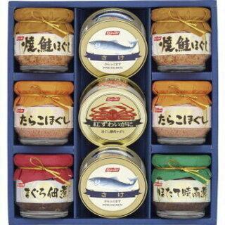 【只今交渉中】ニッスイ 蟹缶詰ギフトセット(BS-50) 蟹 鮭...