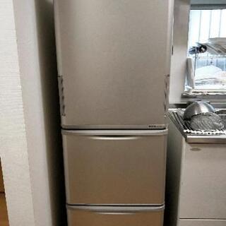 【譲渡先確定済】SHARP 冷蔵庫 3ドア 350L SJ-WA3...