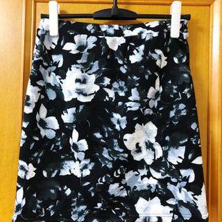 L'espoir 花柄スカート