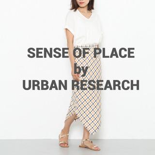 【美品】SENSE OF PLACE タイトスカート