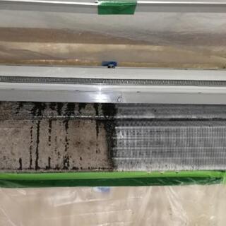 #通常壁掛けエアコン#高圧洗浄で内部をきれいにします! - 一宮市