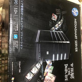 HP メディアスマートサーバーEX490