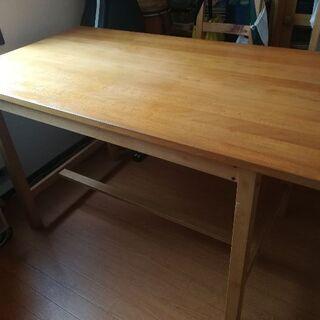 ダイニングテーブル 作業テーブル 木製