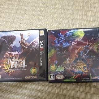 Nintendo 3DS Monster Hunter 4 + ...