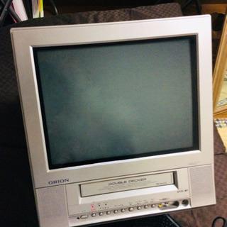 【0円✨】VHSが見られるテレビデオ