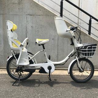 PayPay可 電動自転車 3人乗り対応 チャイルドシート付き 2...