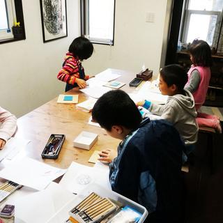 夏休み特別絵画教室