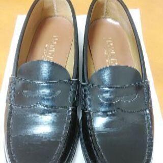 ハルタHARUTA  靴ローファー 23.5cm 黒