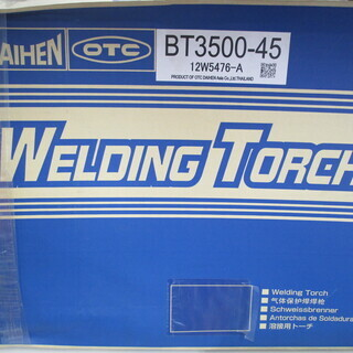 ダイヘン 溶接用トーチ BT3500-45 未使用