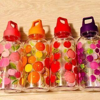 果物柄クリアボトル(3種類) 新品