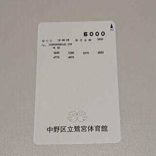 鷺宮スポーツ・コミュニティプラザ施設利用券