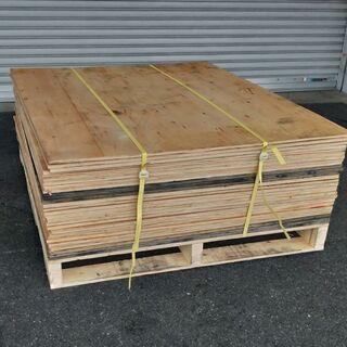 ベニヤ板お譲りします。幅約102cm×奥行約122cm×厚み約1...